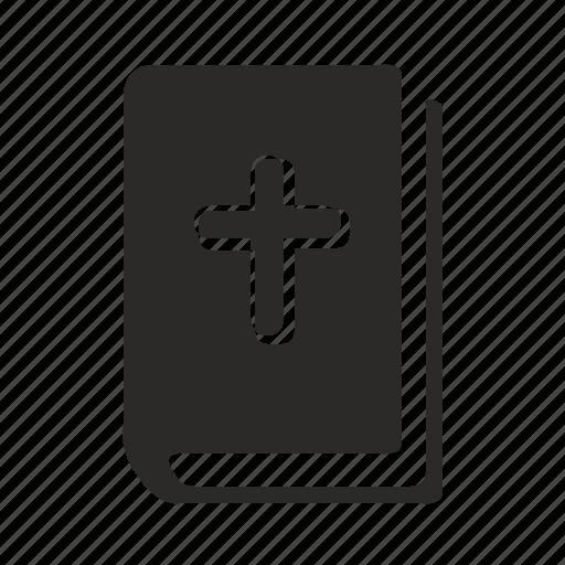 bible, book, ebook, religion icon