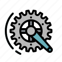 competition, crankset, gear, ride, wheel