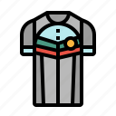clothes, cycling, jersey, sport, uniform icon