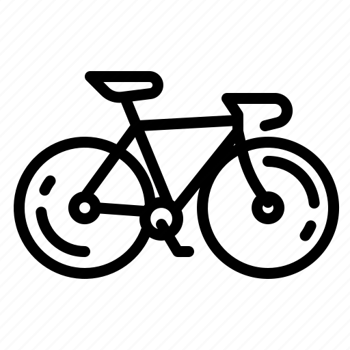 bicycle, bike, exercise, road, sports icon