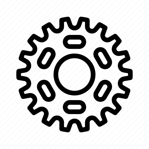 Bicycle, bike, chain, gear, mechanism icon - Download on Iconfinder