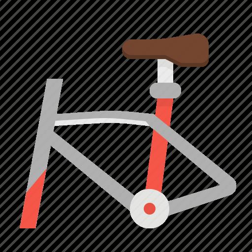 bicycle, bike, exercise, frame, sports icon