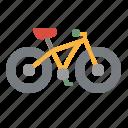 bike, hill, mountain, sports, trail