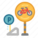 bicycle, bike, competition, parking, sports icon