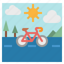 bike, cycling, exercise, road, sports icon