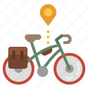 bike, cycling, exercise, road, touring icon