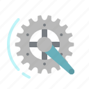 competition, crankset, gear, ride, wheel icon
