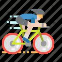 athlete, bicycle, race, racing, sport