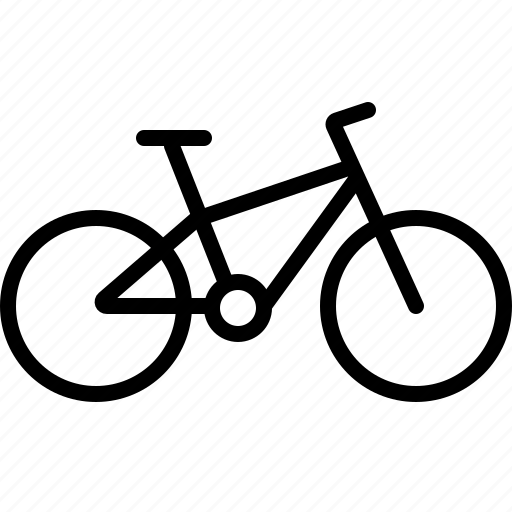 bicycle, bike, cycling, mountain bicycle, mountain bike, sports icon