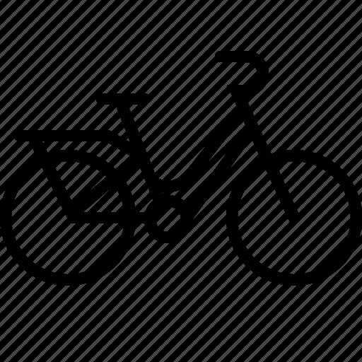 amsterdam, bicycle, bike, granny bicycle, granny bike, transportation icon