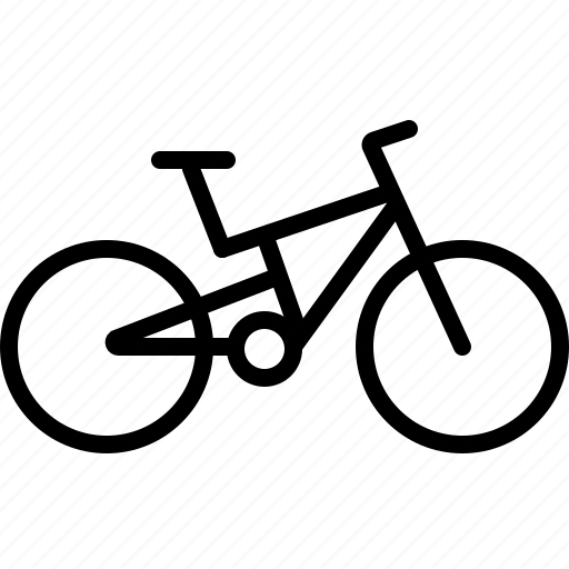 bicycle, cycling, mountain bicycle, mountain bike, ride icon