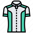 biking, clothes, cycling, jersey, sport icon