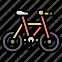 bike, mountain, recreation, sport, vehicle icon