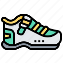 footwear, items, shoes, shopping, sport icon
