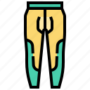 clothes, cycling, rider, sport, trousers icon