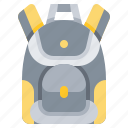 accessory, backpack, bag, outdoor, recreation icon