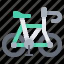 bike, exercise, recreation, road, vehicle icon