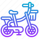 bicycle, bike, children, ride, vehicle icon