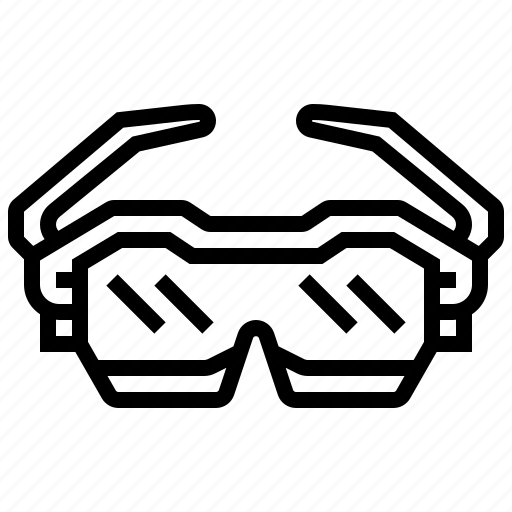 accessory, cyclist, eyes, glasses, sunglasses icon