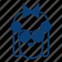 avatar, emotion, face, female, girl, lady gaga, smile, user icon