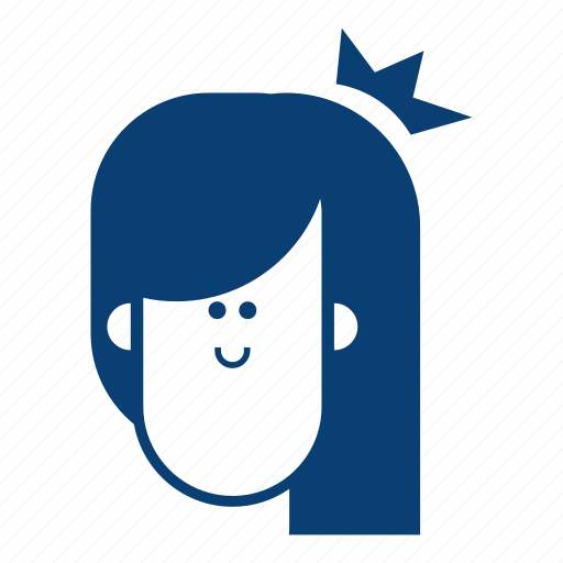 avatar, emotion, face, female, girl, user icon