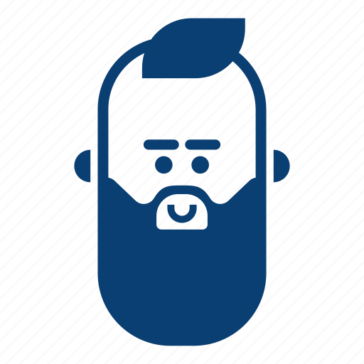 avatar, face, hipster, male, man, smile, user icon