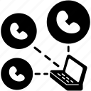 analysis, call, detail, phone, record icon
