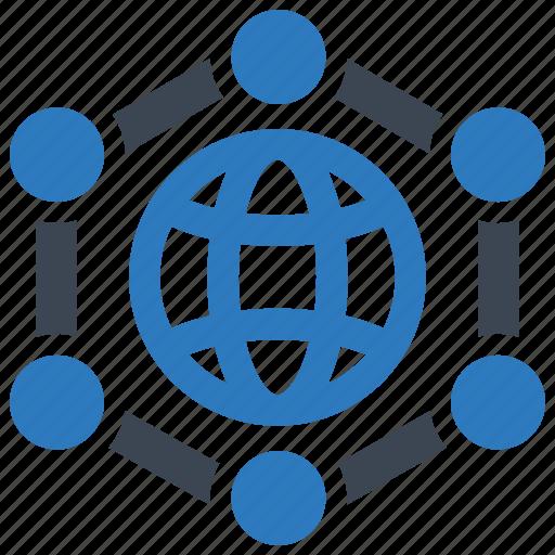 big, data, global icon