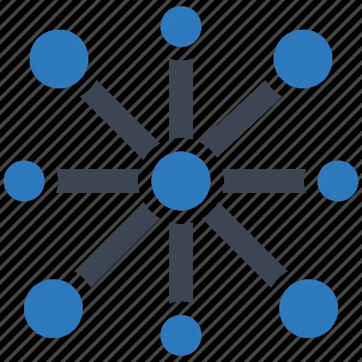 big, data, network icon