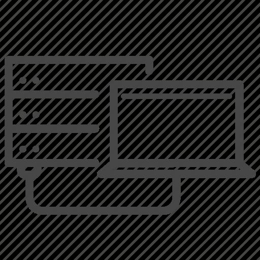 Data, server, storage, transfer, database icon - Download on Iconfinder