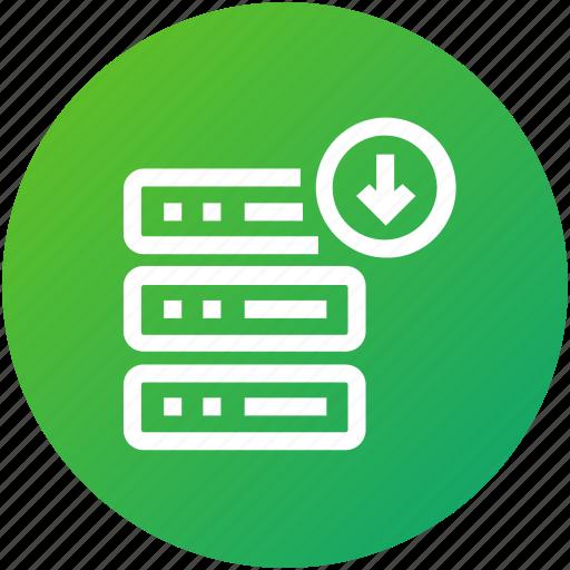 Database, download, hosting, server icon - Download on Iconfinder