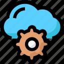 cloud, network, settings