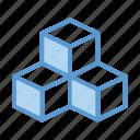 box, modules, shipping, boxes, storage, storehouse