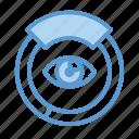 analytics, data, eye