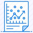 data visualization, growth chart, prediction model, regression analysis, statistics icon