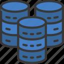 big, data, databases, complex icon