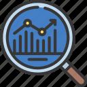 data, analysis, analyse, loupe, magnifyingglass