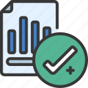 quality, data, tick, passed icon
