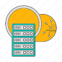 cloud, data, database, server, storage, technology icon