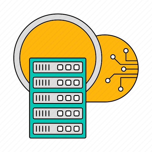 cloud, data, database, server, storage, technology icon