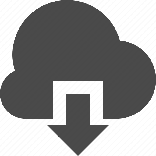 cloud, data, download, guardar, save icon