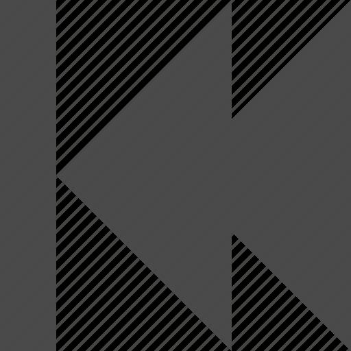 backward, fast, speed icon