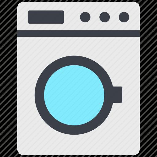 laundry, laundry machine, washer, washing machine icon