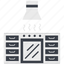 cook, cooking, eat, kitchen, pot, stove icon