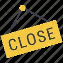 badge, open, open shop, shop sign