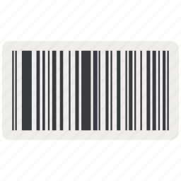 bar, bar code, barcode, code, product, product label icon