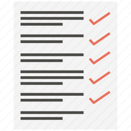 document, file, note, page, paper, sheet, text icon