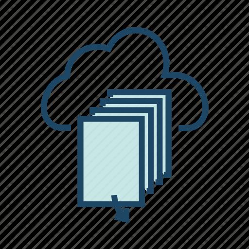 Bigdata, cloud data center, cloud database, cloud server, cloud storage, hosting server icon - Download on Iconfinder