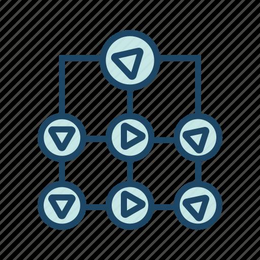 ambiguity, bigdata, data flow, schema, structure icon