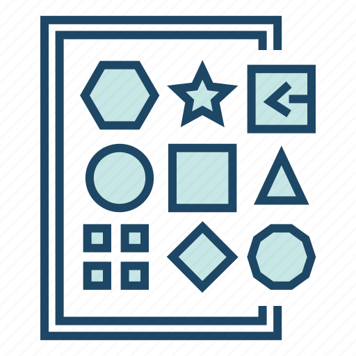 data variety, difference, geometry, variable data, variety icon